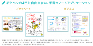iPad_iPhone、Android、Windows向け手書きノートアプリ「Note_Anytime」